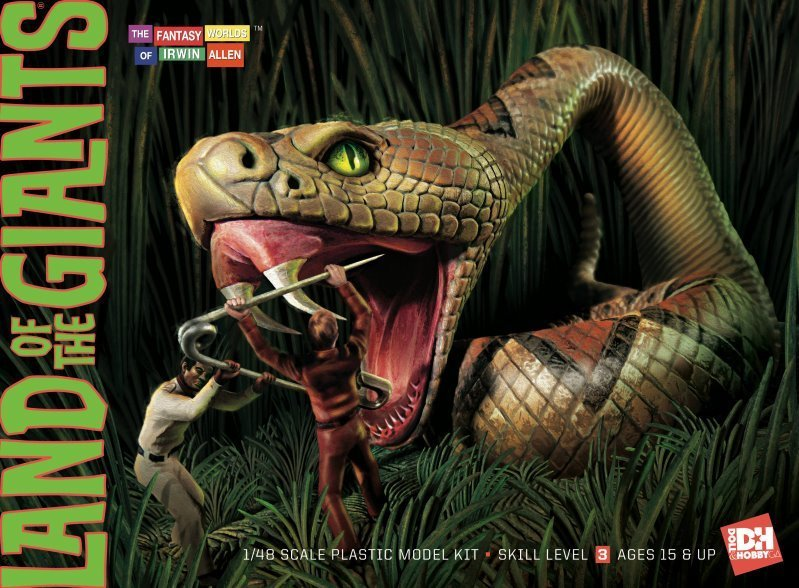 Land of the Giants snake box cover
