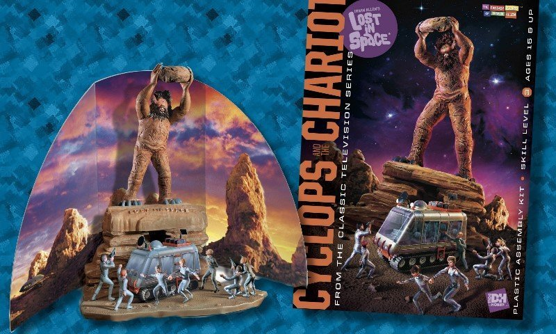 New Kit:  Lost in Space: Cyclops and Chariot